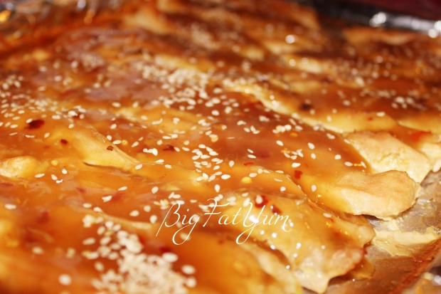 Baked Honey Ginger Chicken